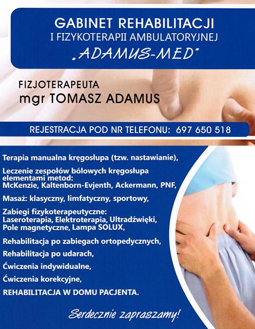 Fizjoterapia Adamus